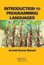 Introduction to Programming Languages by Arvind Kumar Bansal (2013, Paperback)