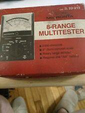 Vintage 8-range Multitester digital 22-212