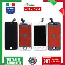 PER IPHONE 5 5S 5C SE COMPLETO SCHERMO LCD TOUCH SCREEN + ORIGINAL LCD DISPLAY
