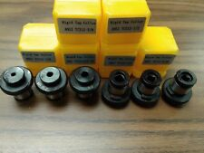 6 ANSI Rigid Tap Collets,positive drive P-type tap adapters,quick change style