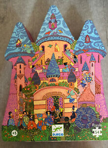 Djeco Jigsaw Puzzle 54 Pieces Chateau Feerique The Fairy Castle. 5 Years +