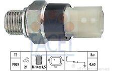 FACET Interruptor de control la presión aceite OPEL RENAULT BMW NISSAN 7.0178
