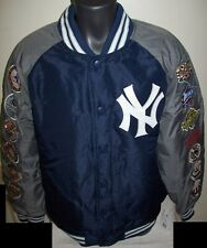 NEW YORK YANKEES 27 TIME WORLD SERIES CHAMPIONS Polyester Jacket  S M L XL 2X