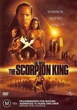 SCORPION KING, THE: The Rock, Kelly Hu DVD NEW