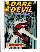 Daredevil The Man Without Fear #44 Marvel Comics (1968) VG 4.0
