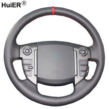 For 2013 Land Rover Freelander 2 2013-2015 Hand Sewing Car Steering Wheel Cover