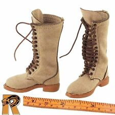 Entrepreneur - Leather Boots (for Feet) - 1/6 Scale - Redman Action Figures