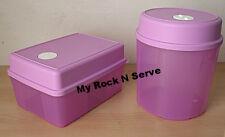 Tupperware Rectangular/Round  Freezer Mates Refrigerator w/ Dial 6,8 Cup NEW