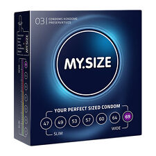 Condoms My Size 69mm 3 Pieces Size 69 mm My Size Sex Shop Toy