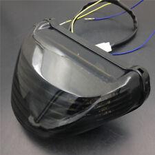 Motorcycle LED Tail Light signal light For Kawasaki Ninja ZX12R 2000-2005 Smoke