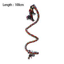100cm Bird Swing Rope Chewing Standing Bird Parrot Climbing Toys Elastic