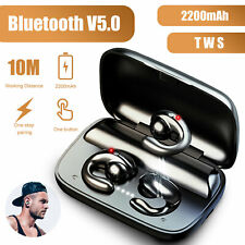 TWS Wireless Bluetooth 5.0 Earbuds Bone Conduction Headsets Mini Stereo Earphone