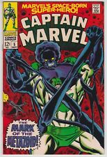 Captain Marvel #5 VF-NM 9.0 Roy Thomas Gene Colan Art Mark Of The Metazoid 1968!