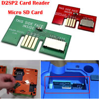 SD2SP2Card Reader Micro SD Card Adapter Spare Part for GameCube Serial Port 2