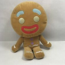 Dreamworks Shrek Big Headz the Gingerbread Man Soft Plush Toy 23cm