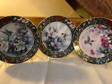 Lena Lui's Hummingbird Treasury Porcelain Plates #1-6