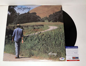 Neil Young CSNY Signed Autograph Old Ways Vinyl Record Album PSA/DNA COA
