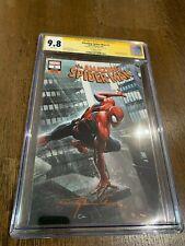 Amazing Spider-Man #1 2018 CGC SS 9.8 Clayton Crain Variant