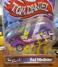 TOM DANIEL BAD MEDICINE PURPLE  TOY ZONE 1/43 DIECAST CAR 99235