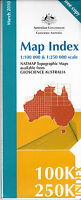 Innisfail (QLD)  8162   1:100,000 NATMAP  topographic map brand new