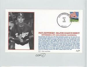 1997 Little Sun Baseball Silk Postal Caches Paul Konerko