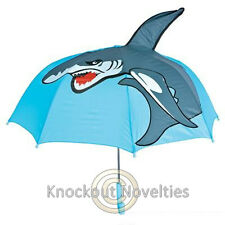 Shark Umbrella Raining Dry Head Cover Rain Wet Protect Water Grey Sea Sharks
