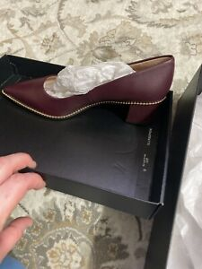 NIB COACH WINE WILLA PUMPS SZ 8.5