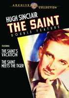 The Saint's Vacation / The Saint Meets The Tiger [New DVD] Manufactured On Dem
