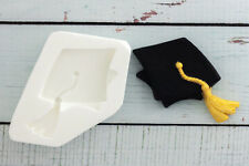 Silicone Mould Graduation Cap Food Grade Ellam Sugarcraft M0019