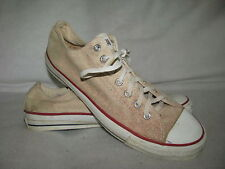 CONVERSE All Star Men 12 M White Canvas Basketball Sneakers Shoes Made in USA