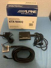 Alpine Imprint Sound Manager, KTX-100EQ with Accessories