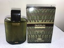 ANTONIO PUIG QUORUM EDT FOR MEN 1.7 FL OZ MEN NEW UNSEALED BOX (W48)