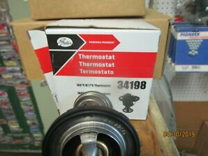 Gates 34198 Engine Coolant Thermostat for 89018168 8-89018-168-0 34198 52387 mm