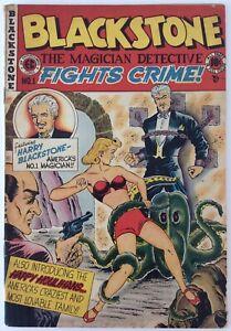 EC Comics Blackstone #1 1947 VG/F 5.0 Bondage Cover Pre Code Golden Age Comic