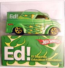 HOT WHEELS 2010 EL SEGUNDO EDUCATION FOUNDATION DAIRY DELIVERY SUPER RARE 1/500