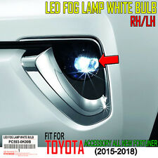 GENUINE TOYOTA CAR ACCESSORIES ALL NEW FORTUNER 2015-2018 LED FOG LAMP AND LIGHT