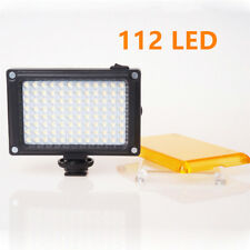 Eclairage 112 LED Lampe Torche Vidéo FT-112 pour Caméra Nikon Canon Sony Fuji