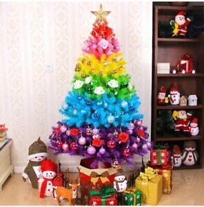 2020 new arrival Rainbow Color Christmas Tree Festival Decoration Christmas Tree