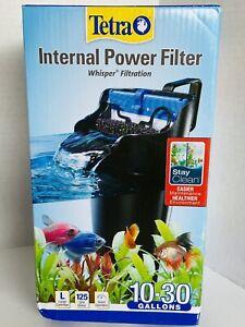 Tetra Whisper Advanced Power Filter 10-30 Gallon 125 GPH,Air Pump Tank NEW