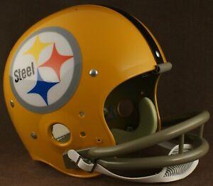 PITTSBURGH STEELERS 1962 NFL Authentic THROWBACK Football Helmet