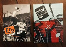 U2 Dvd's (Lot Of 2) Elevation Tour 2001 & U2 Go Home Live From Slane Castle