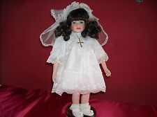 """Dynasty Collection Porcelain Communion Doll 18"""" New with Authenticity"""