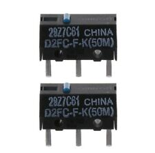 2Pcs Original OMRON D2FC-F-K (50m) Blue Dot Mouse Micro Switch