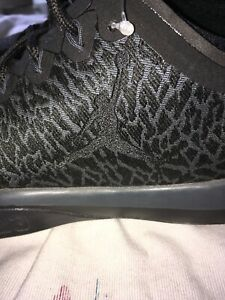 NIKE JORDAN TRAINER 1 LOW MEN'S SHOES Sz 10.5 BLACK ANTHRACITE 845403-002 Print