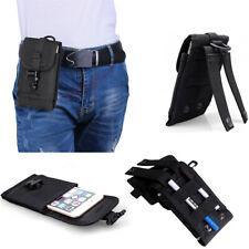 Men's Nylon Waist Bag Belt Pouch Wallet Case Purse Universal Phone Fanny Pack