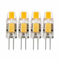 10X G4 5W 6W AC DC 12V LED COB Mini Crystal Bulb Light Replace Halogen Lamp