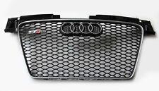 Original Audi TT-RS s 8j parrilla calandra negro alto brillo S-line Quattro nueva