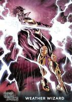 WEATHER WIZARD DC Comics Super-Villains (Cryptozoic 2015) BASE Trading Card #62