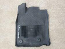 2010 - 2019 TOYOTA 4RUNNER DRIVERS SIDE FLOOR MAT TRAY