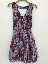 Ladies Heaven Flower Pattern Dress UK Size 10